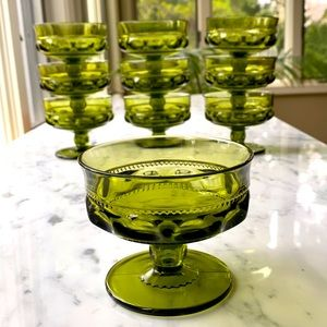 Indiana Glass • Kings Crown • 6 oz. Sherbet Dishes